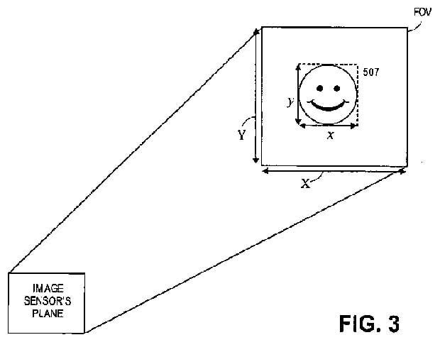 Apple camera patent for face detection autofocus