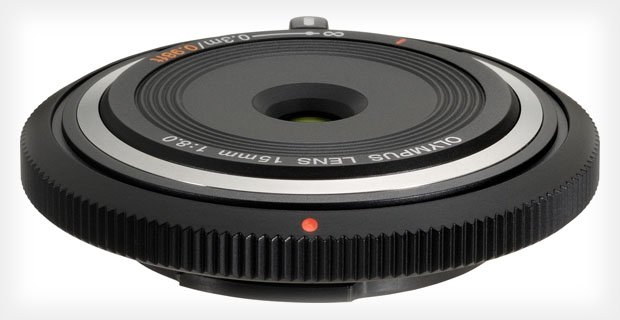 Olympus Launches a Quirky 15mm Lens that Doubles as a Body Cap 15mma