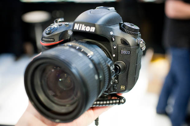 Hands on with the Nikon D600, a More Affordable Full Frame DSLR IMG 3570