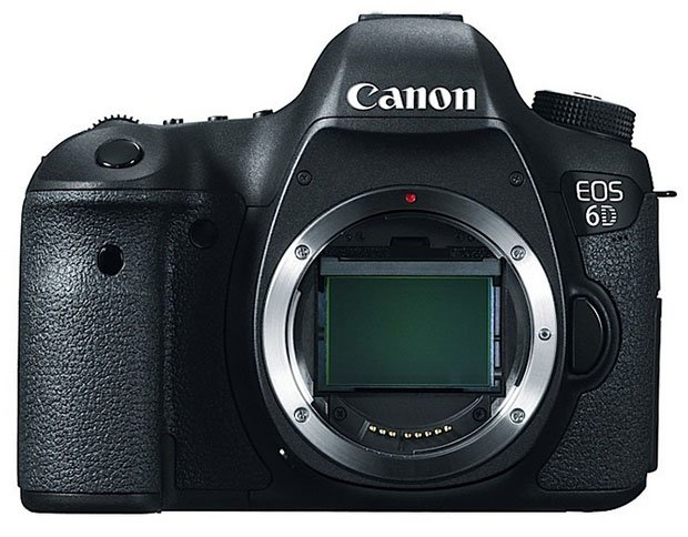 Canon Announces the 6D, Its Smallest, Lightest, and Cheapest Full Frame DSLR canon6da
