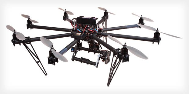Camera Equipped Copter Beams Fpv To Goggles For Beautiful