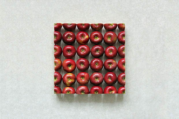 Creative Photos of Fruits and Veggies Cut and Arranged into Geometric Shapes sakir02v2