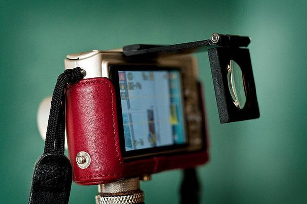 ClearViewer: A Folding High Diopter Lens That Turns Your LCD Into an EVF clearviewer