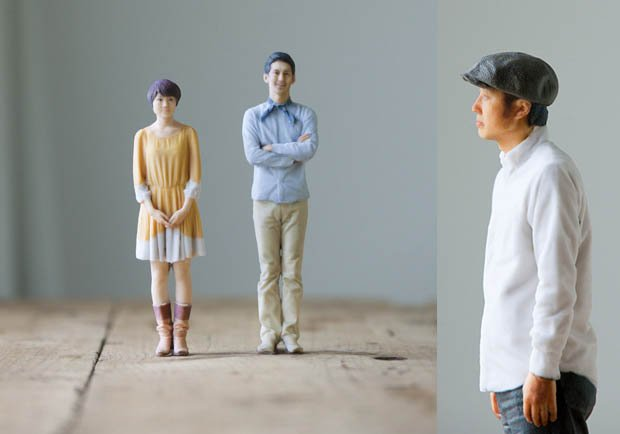 Japanese Portrait Studio Creates Tiny 3D Sculptures Instead of 2D Photos example1