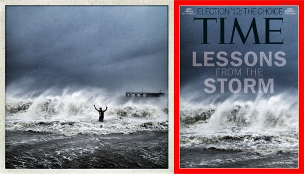 Instagram Photograph of Hurricane Sandy Selected for Cover of Time Magazine instagramtimecover