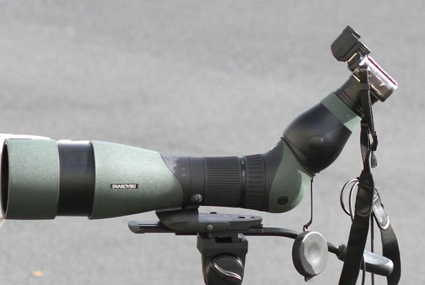 Digiscoping: A Look at Using a Spotting Scope as a Telephoto Lens spotting1