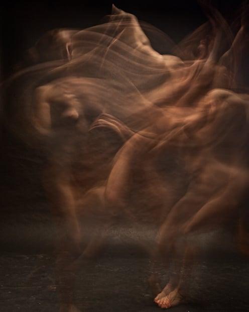Nude exposures in motion