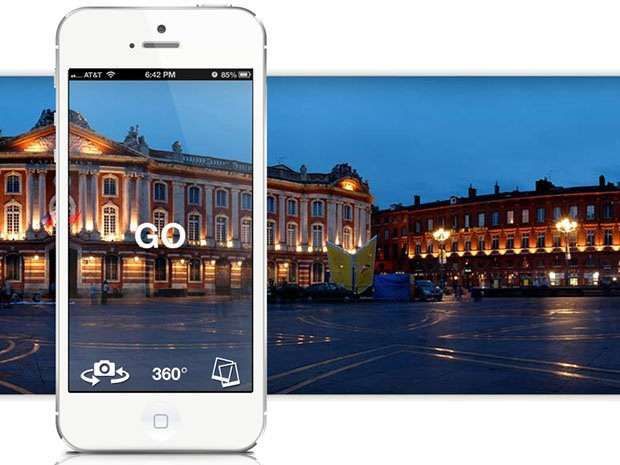 Cycloramic Rotates Your iPhone in 360 Degrees Using Only Its Vibrate Feature cycloramic1