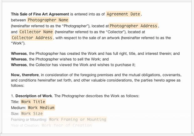 A Collection of Free Sample Legal Forms for Photographers – Interview Consent Form