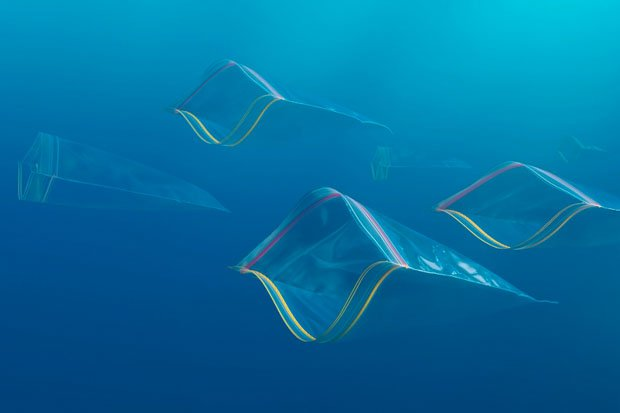 Everyday Objects Photographed to Look Like Sea Creatures garbageocean.jpg 5