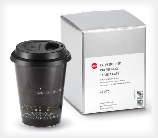 Leica Officially Jumping Onto the Lens Mug Train, Two Models Arriving Soon leicamug