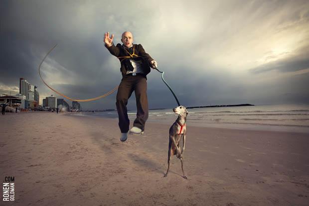 Photographer Recreates His Dreams As Surreal Photographs