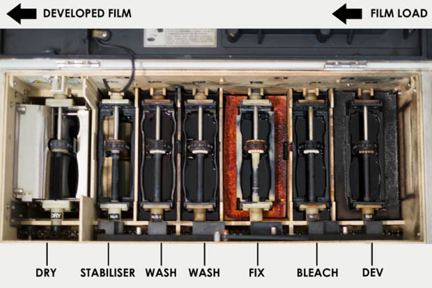 A Behind The Scenes Look At How 35mm Film Is Developed And Printed