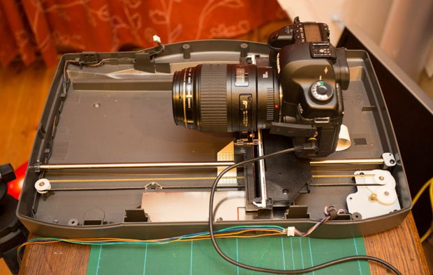 Focus Stacking Macro Photographs With A Hacked Flatbed Scanner