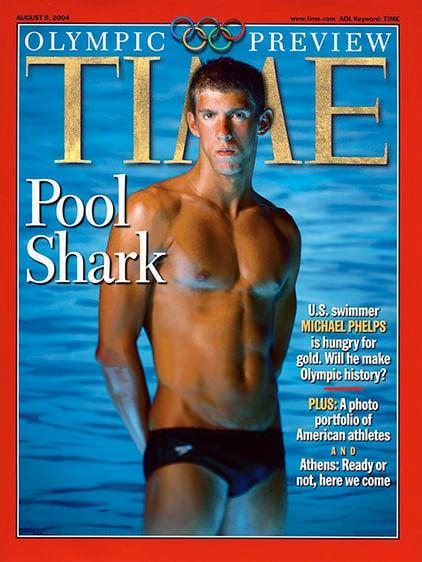 Michael Phelps Portrait