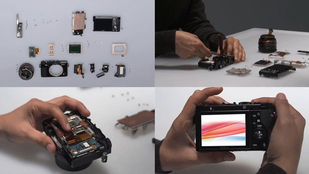 A 5 Minute Video Showing How the Sony RX1 is Assembled sonyrx1