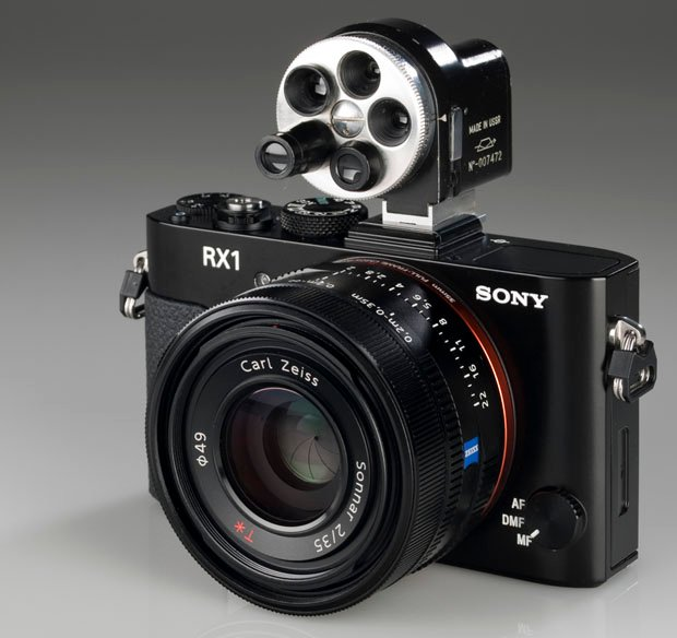 Beast Mode: A Sony RX1 with a Russian Turret Universal Optical Viewfinder sonyturretviewfinder