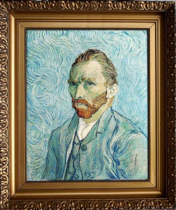 Ван Гог автопортрет
