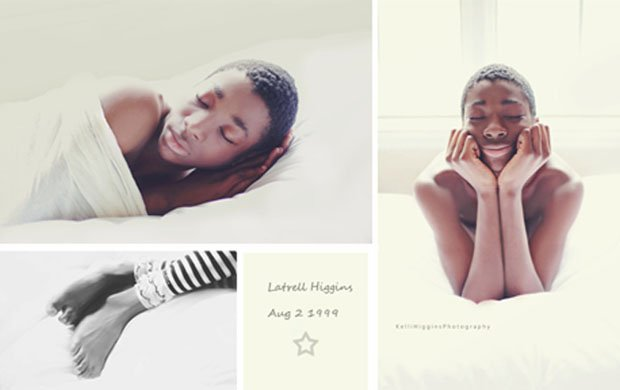 Photographer Shoots Newborn Photos of Her 13 Year Old Adopted Son 13yearoldnewborn