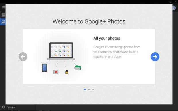 A Sneak Peek at the Google+ Photos App in the Chromebook Pixel