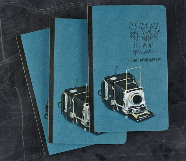 An Idea Journal Packed With Inspirational Photography Quotes journal4