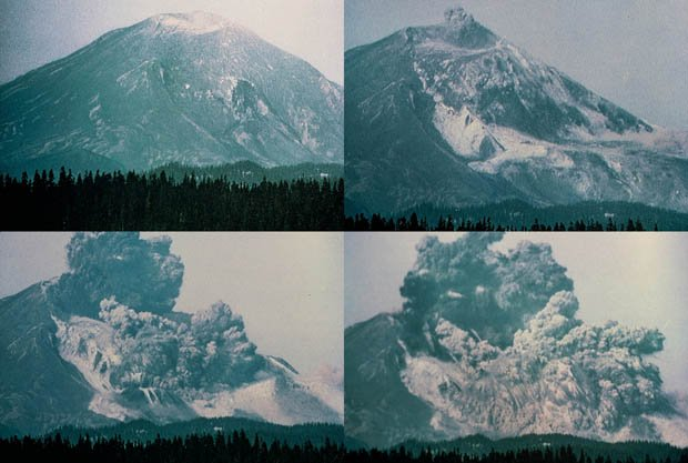 Photographer Gary Rosenquist captured a series of photos of the massive landslide during the 1980 Mt. St. Helens eruption.