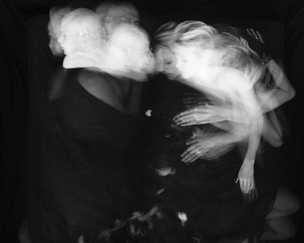 Long Exposure Photos Showing Couples Tossing and Turning at Night sleepofbeloved 2