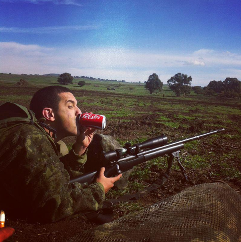 Israeli Snipers Instagram Photo of a Child in His Crosshairs Sparks Outrage sniper2