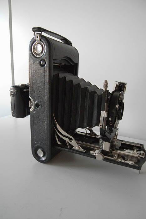 Modding a Vintage Camera for Digital Use