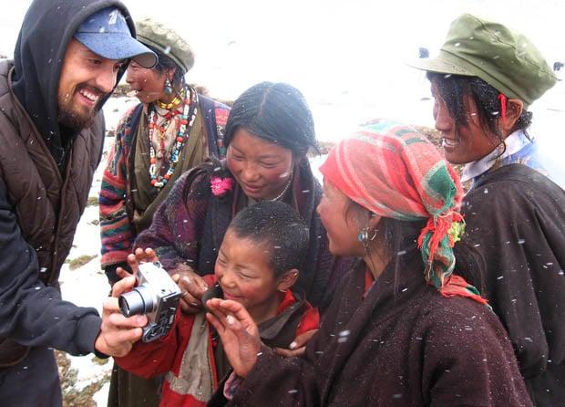 Tom Carter, su viaje de dos años por 33 provincias de china y 35000 km fotografiados