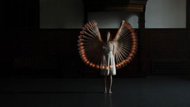 Choros: A Hypnotic Short Film Featuring Single Dancer with 32 Visual Echoes choros 1