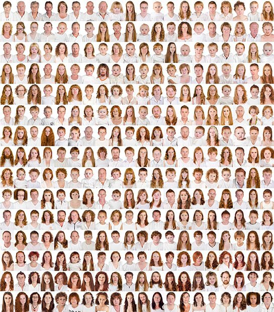 I Collect Gingers: Photographer Shoots Portraits of Redheaded People