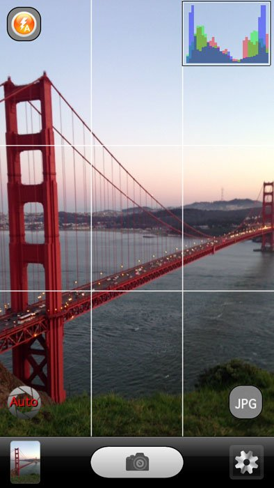 Digital Negative App Lets You Shoot RAW Photos with Your iPhone iph5 screenshot1 copy