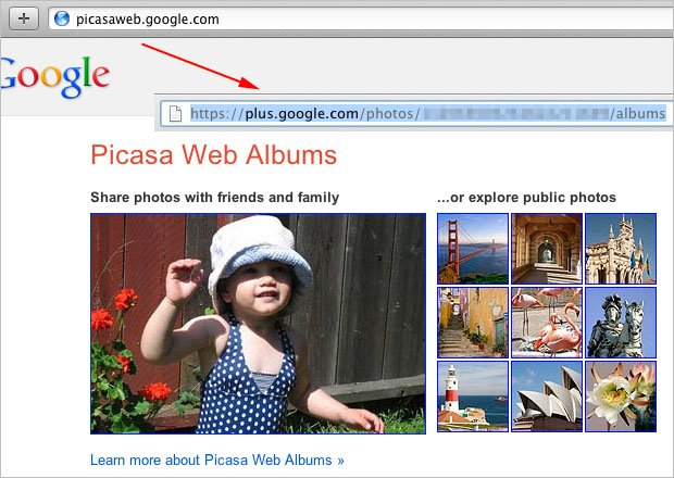 Picasa Web Albums Now Being Directed to Google+ Albums