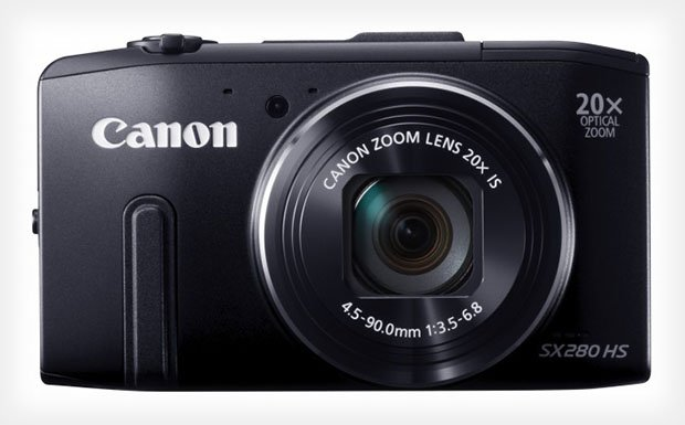 Canon Unveils the PowerShot SX280 HS Loaded with New DIGIC 6 Processor sx280hs