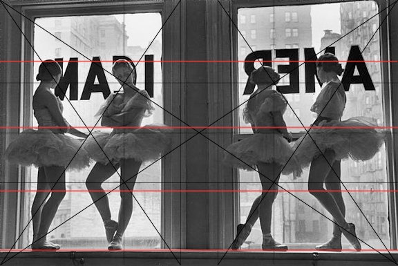 The Great Compositions of Photographer Alfred Eisenstaedt Eisenstaedt Ballerinas Repeated Horizontals
