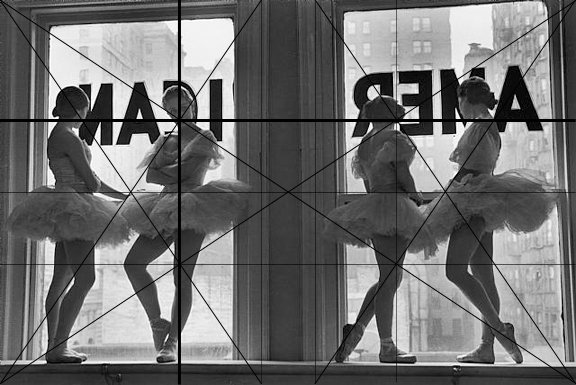 The Great Compositions of Photographer Alfred Eisenstaedt Eisenstaedt Ballerinas Vertical Horizontal