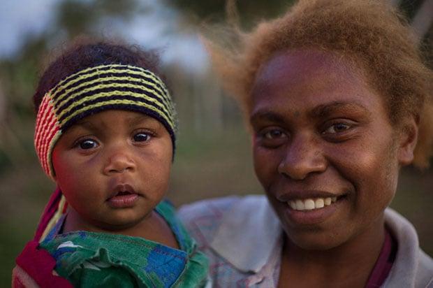 Malia, a new mom, was happy to show off her new treasure Kennedy in Tanna. Tanna [ V A N U A T U ] Adam Marelli