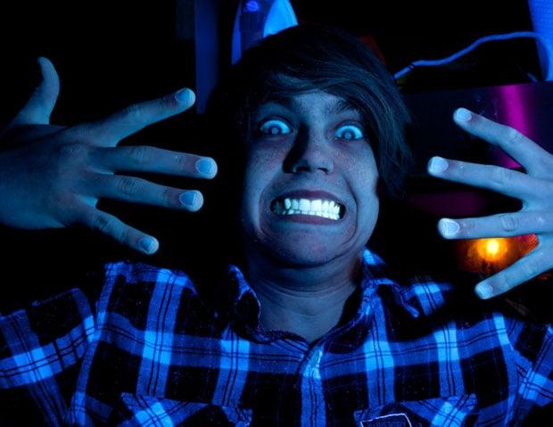 UV Fluorescence Image, illuminated with UV converted flash. D700, 35mm f/2D, 1/160s, f/13, ISO800.