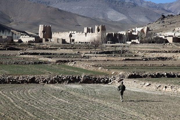 Dahanah Village presence patrol/KLE