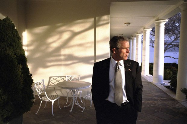 Photographer Offers 'Front Row Seat' to George W. Bush's Presidency