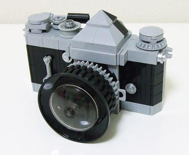 The Nikon F SLR Recreated with LEGO