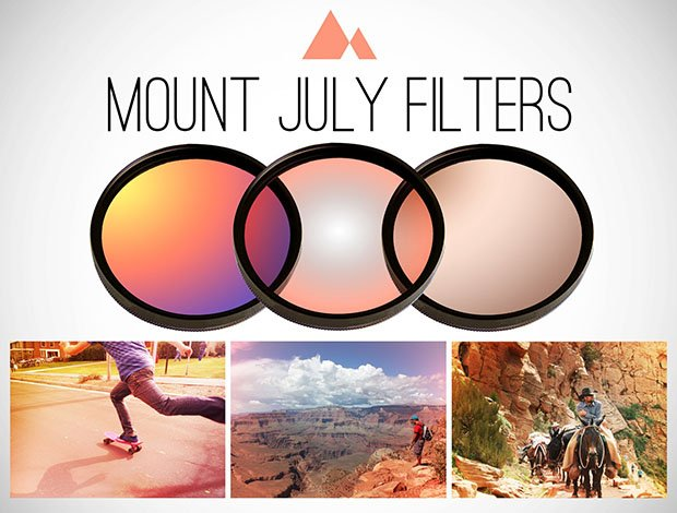 Mount July DSLR Lens Filters Will Be Like Instagram Filters for Your Camera mountjuly