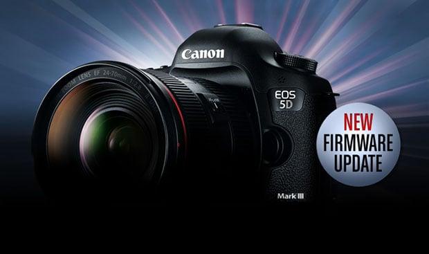 canon 5d mark 111 firmware update