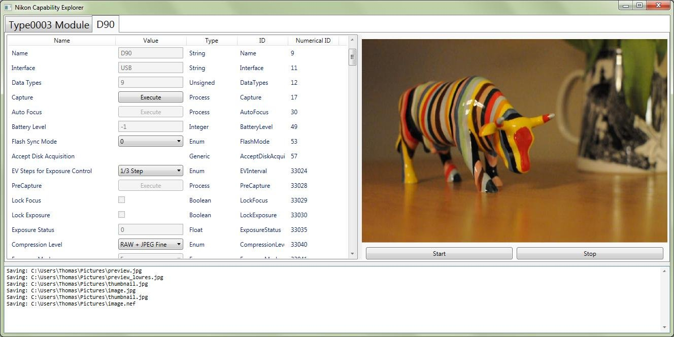 Nikon SDK C# Wrapper Library Lets You Control Your DSLR from Your Computer nikonsdk1