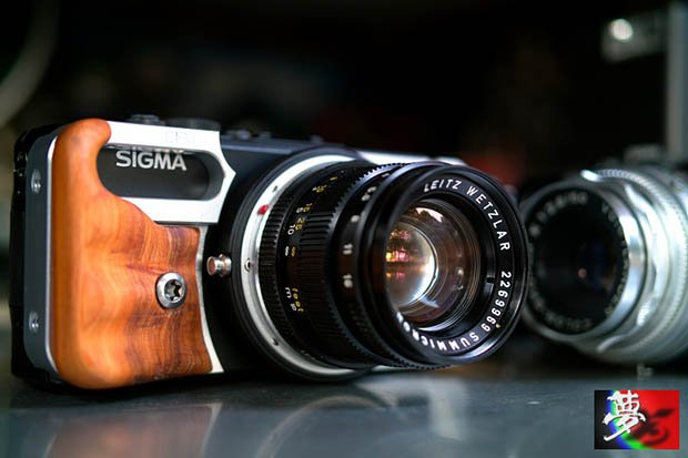Sigma DP Cameras Hacked to Play Nicely with Leica M Lenses sigmadpleica1