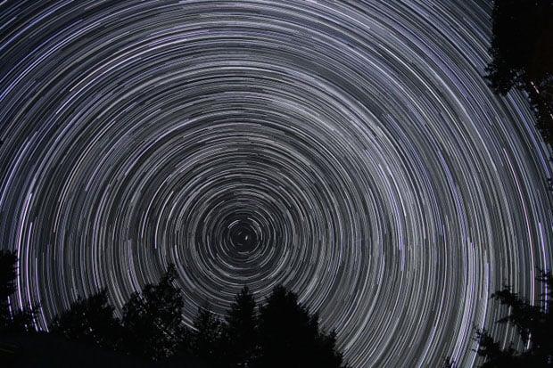 150 minutes of night sky captured over Salt Spring Island, BC, Canada.