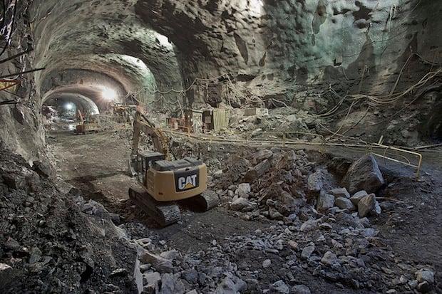 Photos of Massive Underground Caverns Being Dug Under NYC