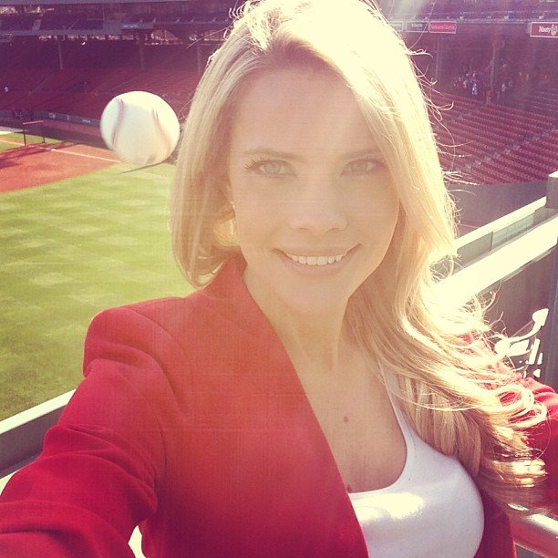 Close Call: Reporters Selfie Reveals That a Baseball Whizzed By Her Head