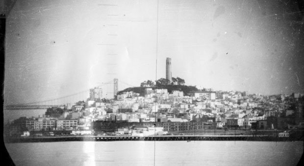 Photos of San Francisco in 1951, Snapped Through a Navy Submarine Periscope